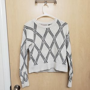 Banana Republic Thick Knit Patterned Sweater